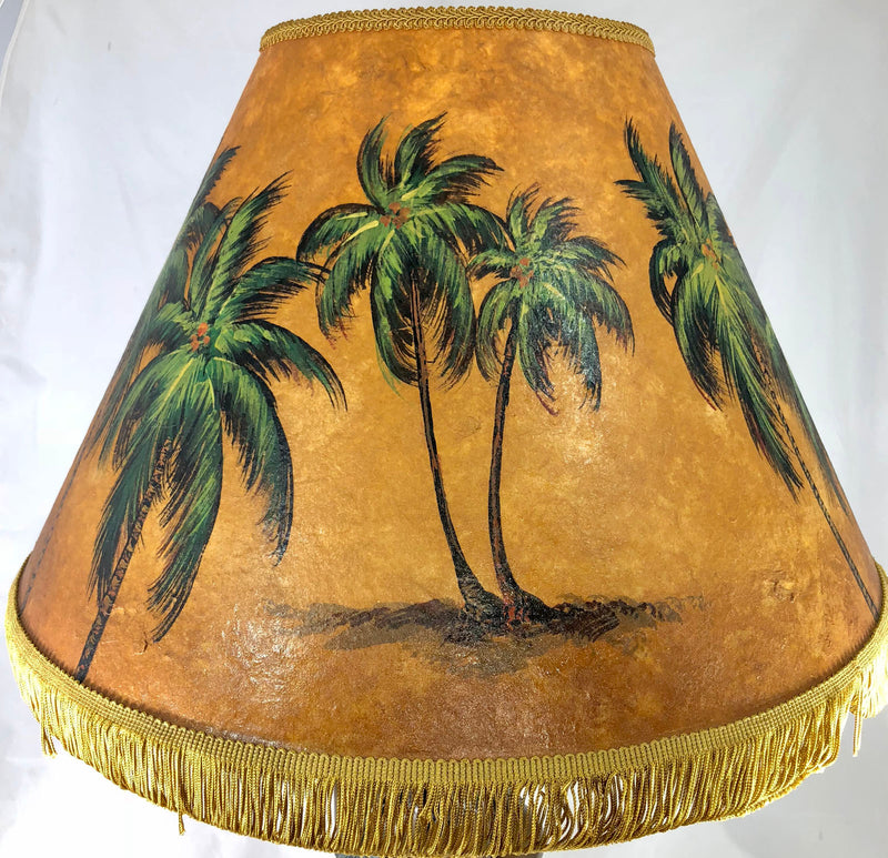Golden Palm Forest Shade - 22 Inch Large Head (9x14x22)