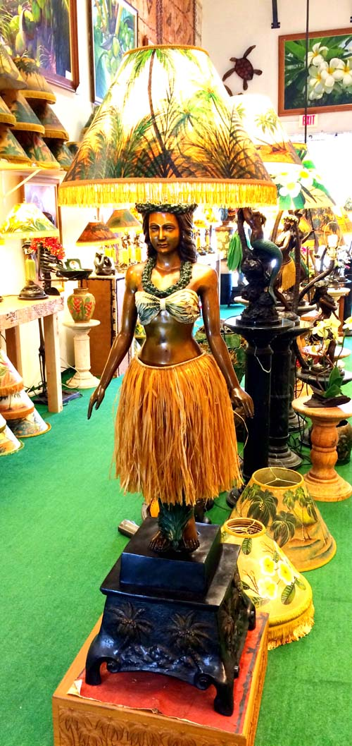 Floor Lamp Moana (Arms Down)