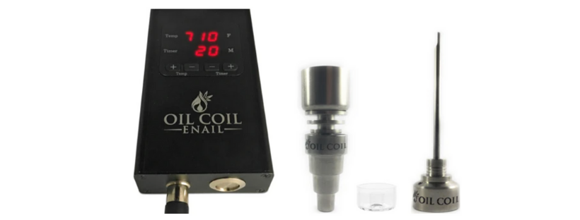 The Ju1ceBox Oil Coil Enail