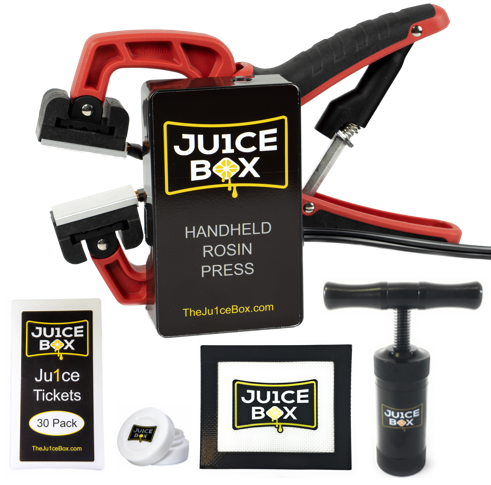 Ju1ceBox Rosin Press Starter Kit