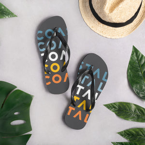Coastal Multi Color Flip-Flops