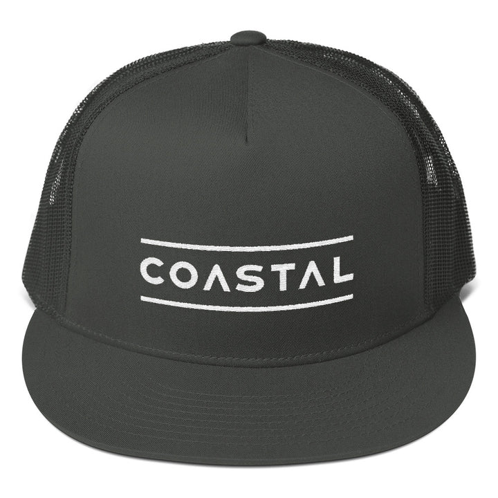 Charcoal Logo Trucker Cap