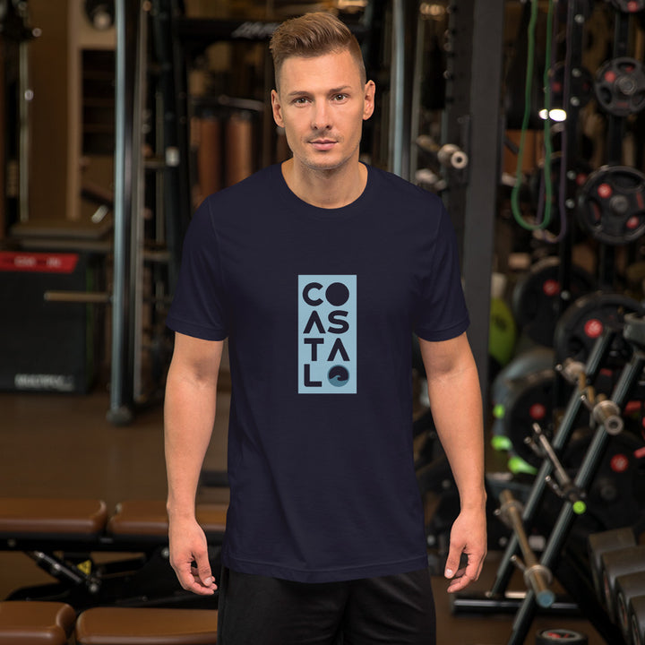Short-Sleeve Unisex Coastal T-Shirt