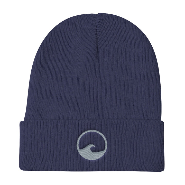 Coastal Wave Logo Knit Beanie