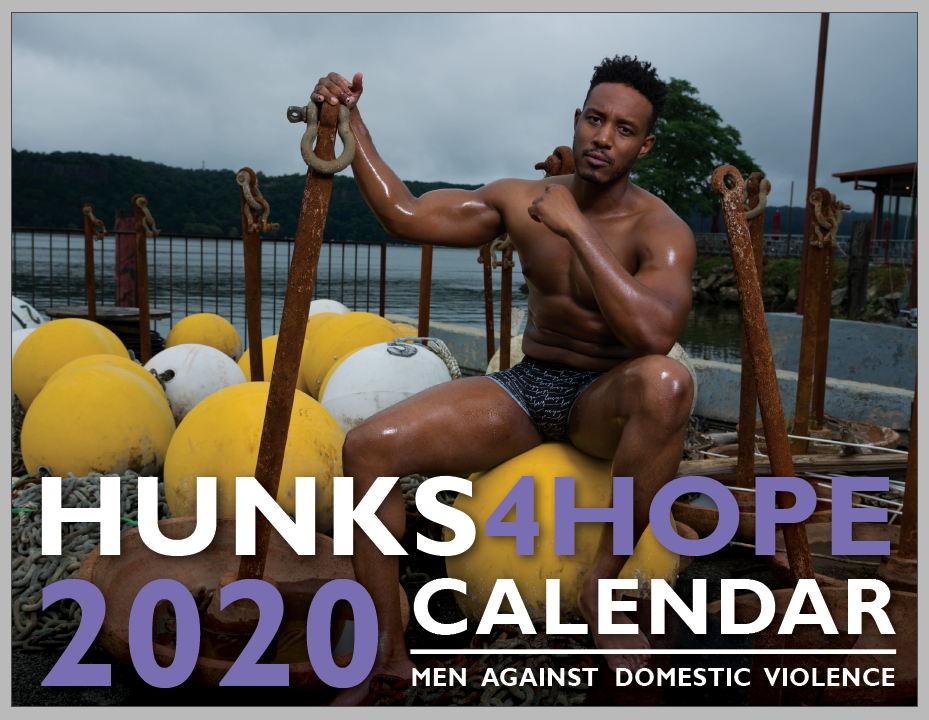 2020 Hunks4Hope Men Against Domestic Violence Calendar