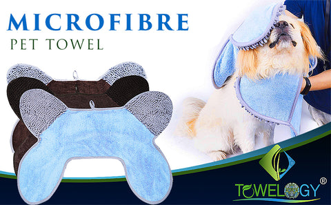 pet drying towel - design