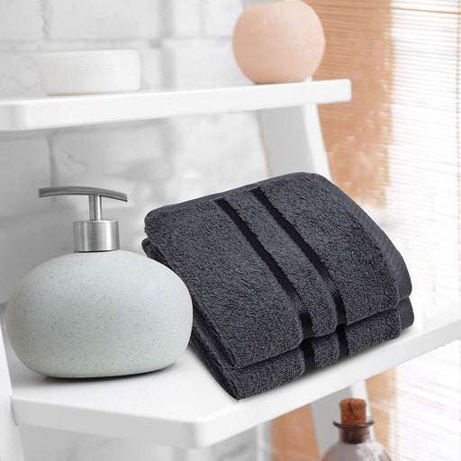 Luxury 100% Organic Cotton Face Flannels 600GSM Hypoallergenic Washcloths - Towelogy