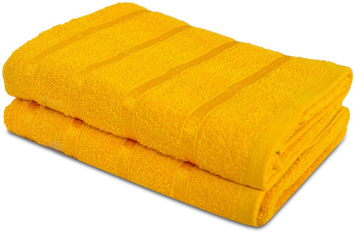 Ochre Bath Sheets Extra Large Gentle Thick Bathroom Towels - Towelogy