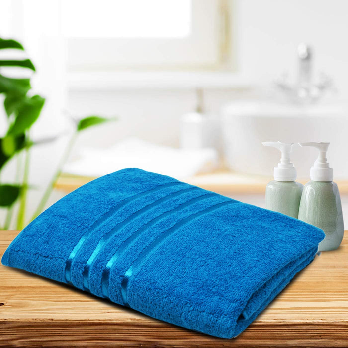 Teal Bath Sheets Extra Large Gentle Thick Bathroom Towels - Towelogy