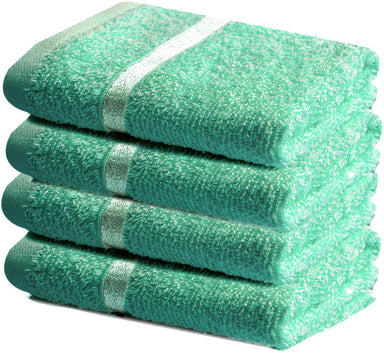 Reusable Aqua Face Cloths Cotton - Towelogy