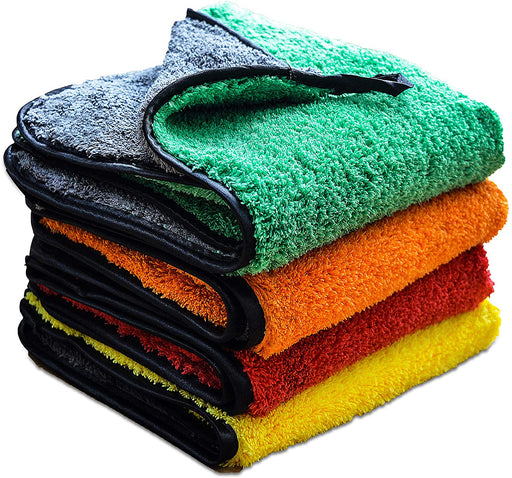 Microfibre Car Drying Cloth Quick Dry High-Density 800GSM Auto Towels - Towelogy