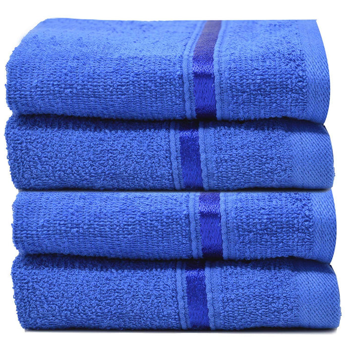 Reusable Face Cloths Egyptian Cotton Washcloths Hypoallergenic - Towelogy