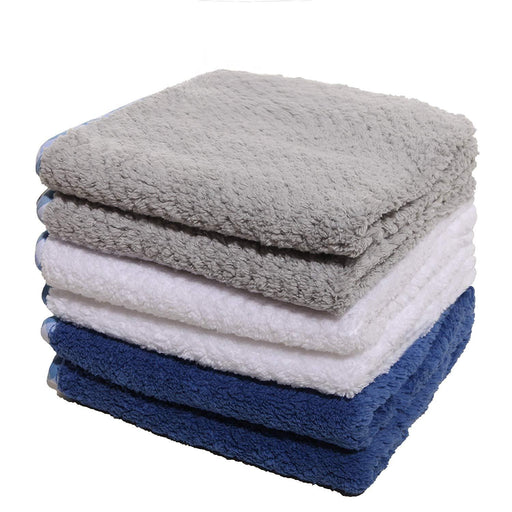 320GSM Microfibre Glass Dish Cloths Plush Ultra Absorbent 30x30cm - Towelogy