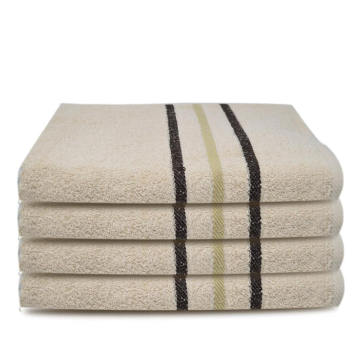 450GSM Luxury 100% Organic Egyptian Cotton Hand Towels Mocha (50x80cm) - Towelogy