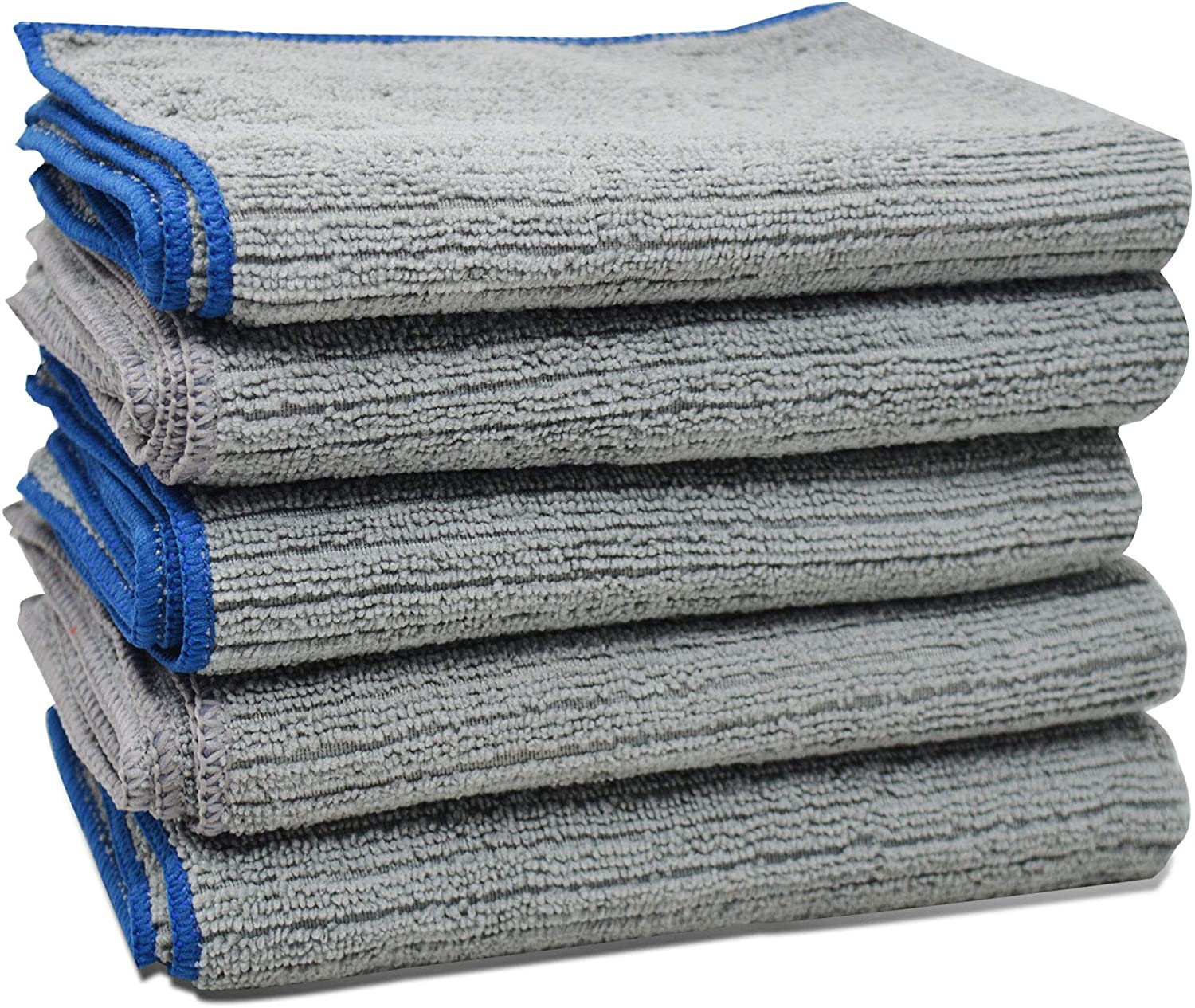 Microfibre Kitchen Dish Cloths Extra Large Grey Eco Friendly - Towelogy