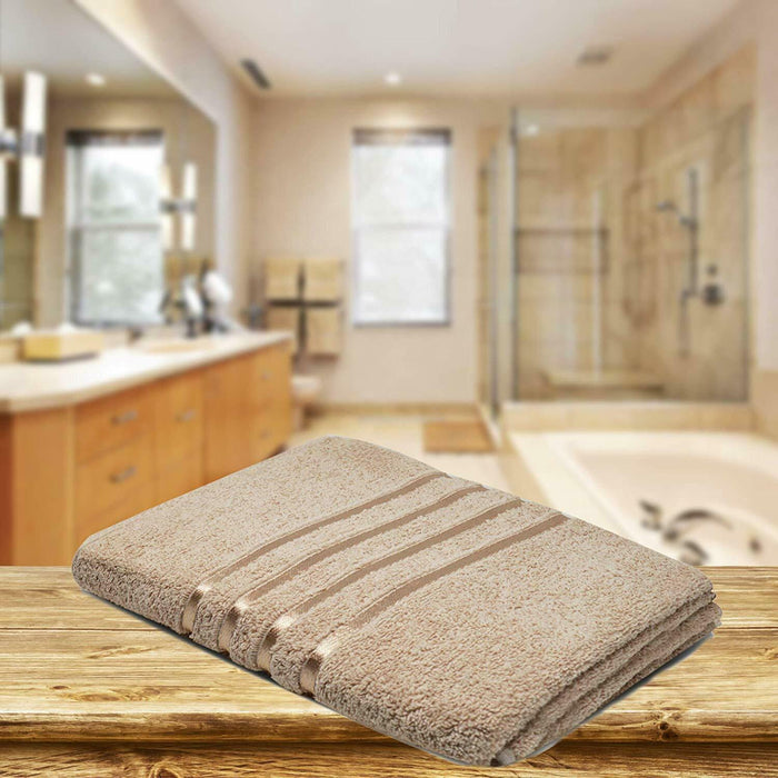 Cotton Natural Bath Towels Absorbent Hotel Quality for Everyday Use - Towelogy