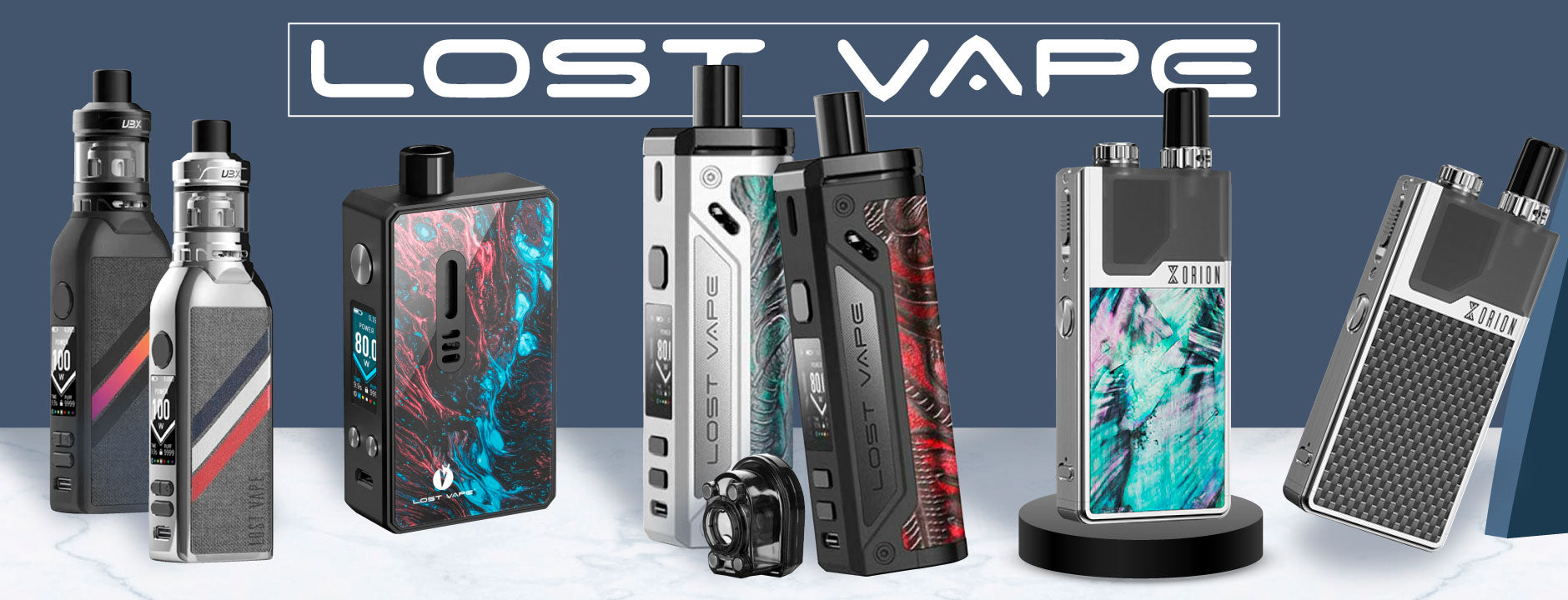Banner Equipos Lost Vape