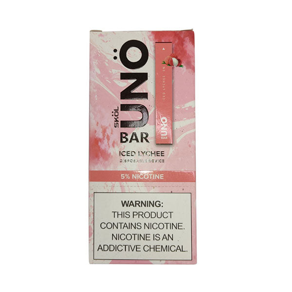Skol Uno Bar Disposable Device Open Box - Distribuidora Quinto Elemento