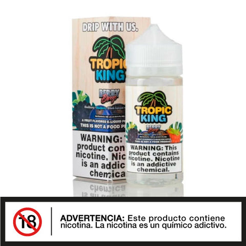 Tropic King Berry Breeze 100ml E-juice - Distribuidora Quinto Elemento