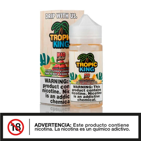 Tropic King Mad Melon 100ml E-juice - Distribuidora Quinto Elemento
