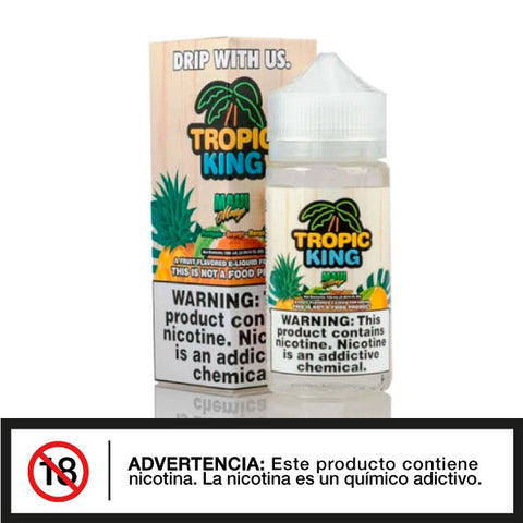Tropic King Maui Mango 100ml E-juice - Distribuidora Quinto Elemento