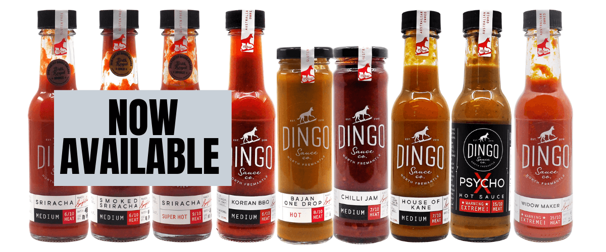 Dingo Sauce Co Now Available at ChilliBOM Wholesale and hot sauce distribution Australia