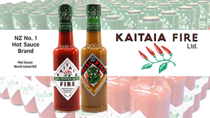 Kaitaia Fire ChilliBOM Wholesale Hot Sauce Distribution Australia Scoville Food gourmet grocery sauces marinade