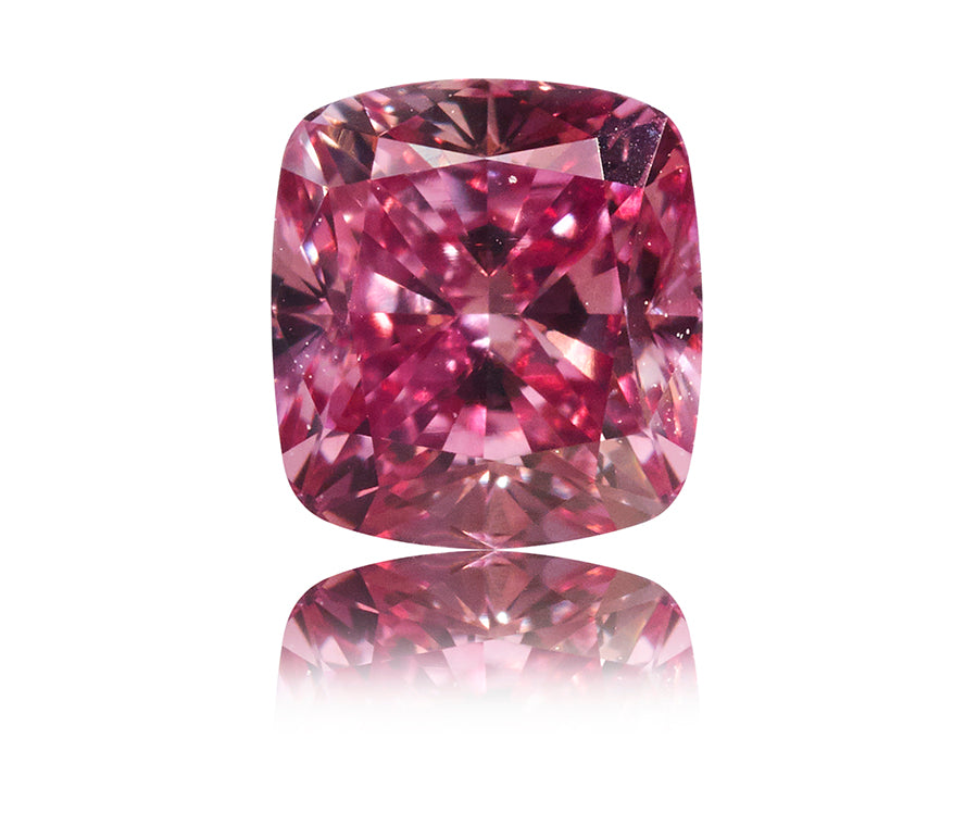Argyle Pink Cushion-Cut diamant 0,30 ct.