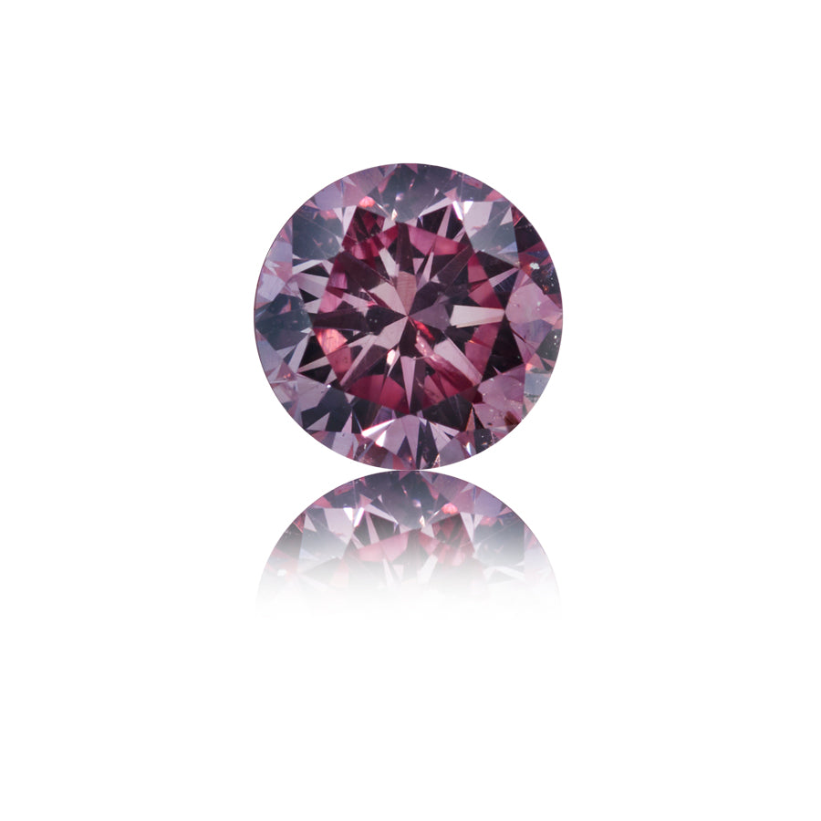 Argyle Pink rund brillant 0,39 ct.