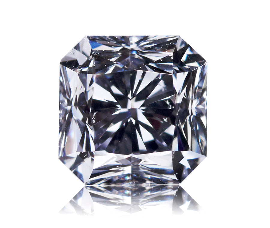 Argyle Blå radiant-cut diamant 0,41 ct.