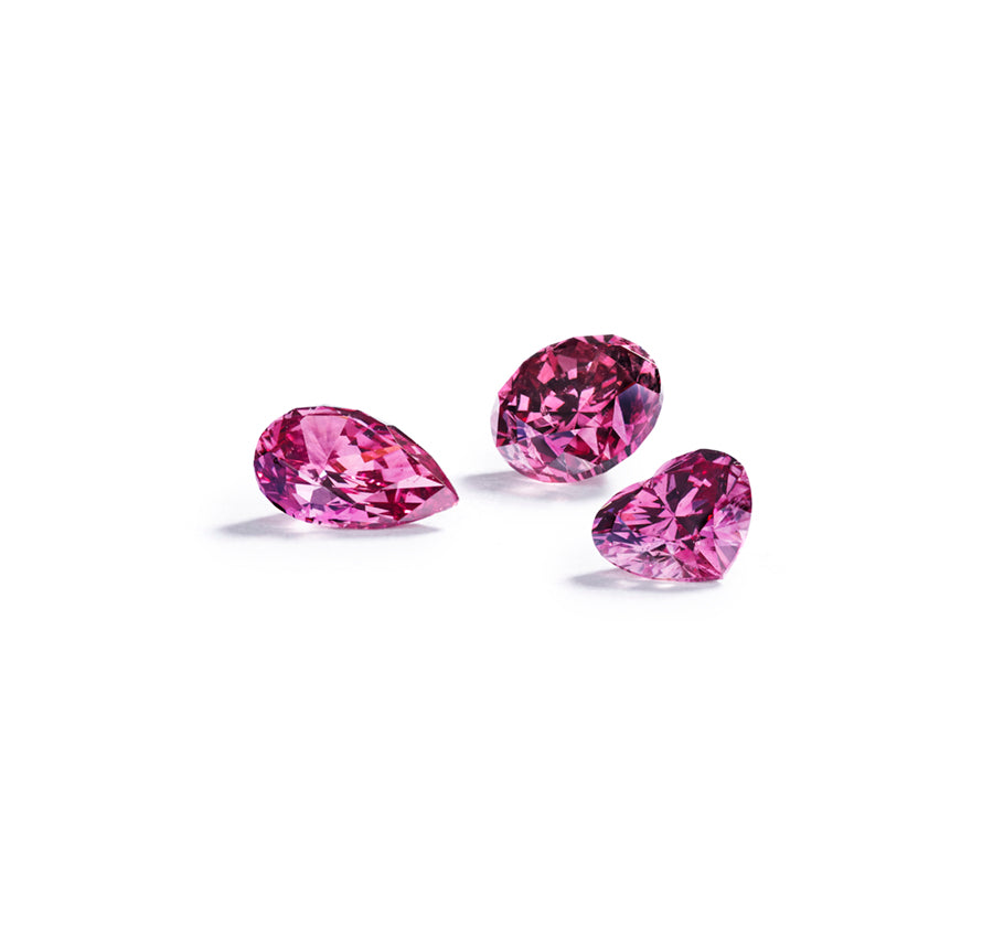 Argyle Pink brillant 0,39 ct. 1PP/P1