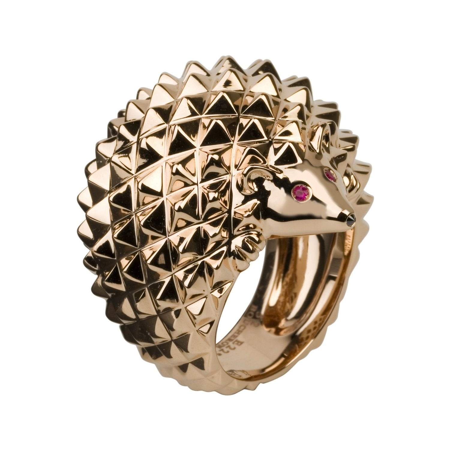 Boucheron Animal Pindsvin ring i 18 kt. rosaguld