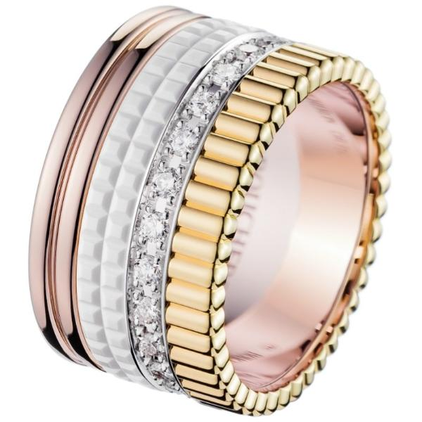 Boucheron Quatre White Edition med 0,51 ct. brillanter