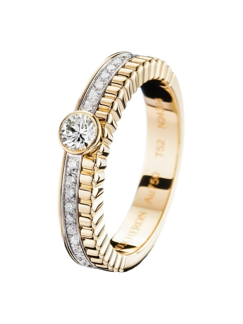 Boucheron Quatre Radiant Solitaire med 0,20 ct. brillant