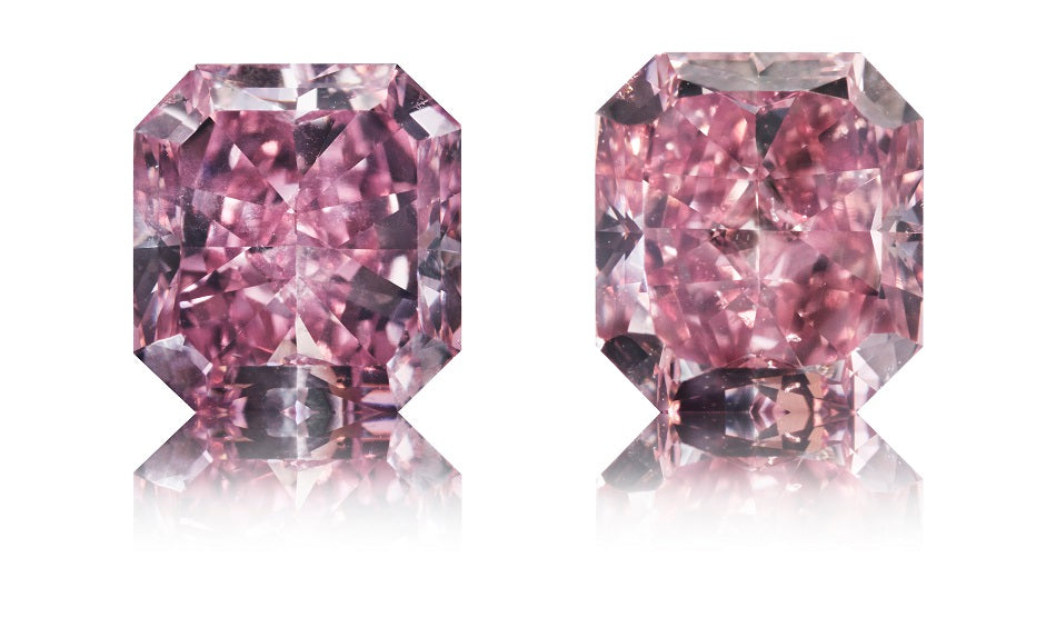Argyle Pink radiant-cut diamanter 2,09 ct.