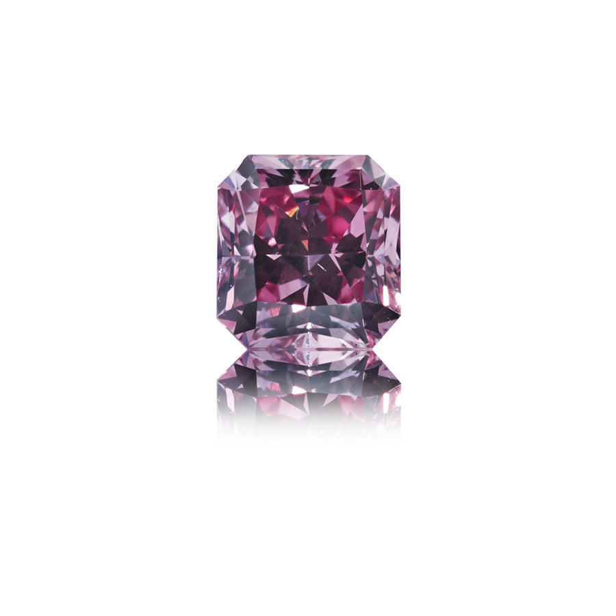 Argyle Pink radiant-cut diamant 0,31 ct.