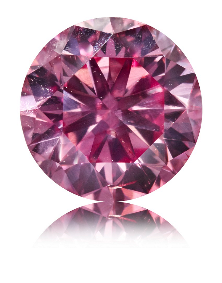 Argyle Pink diamant 0,77 ct.