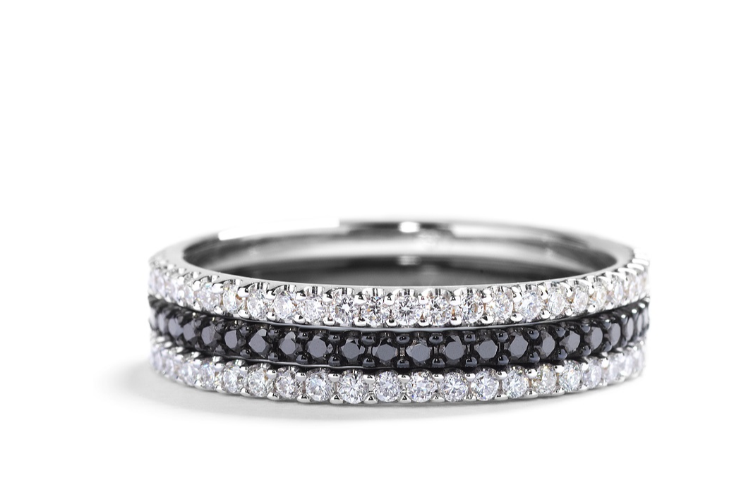 Eternity ring featuring 0.38ct of brilliant cut diamonds