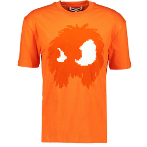Alexander McQueen MCQ Swallow Orange T-Shirt - chancefashionco