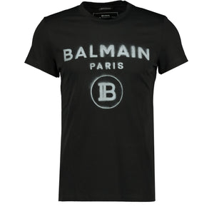 Balmain Paris Logo Print T-Shirt - chancefashionco