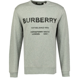 Burberry Horseferry Print Sweatshirt Grey - chancefashionco