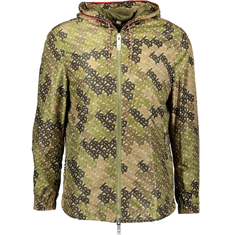 Burberry Logo Print Camo Jacket - chancefashionco