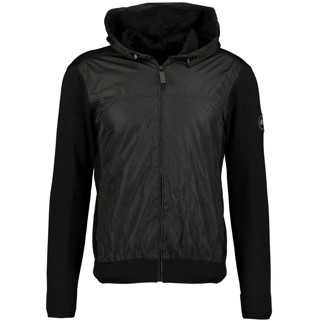 Canada Goose Windbridge Zip Hoodie Black - chancefashionco