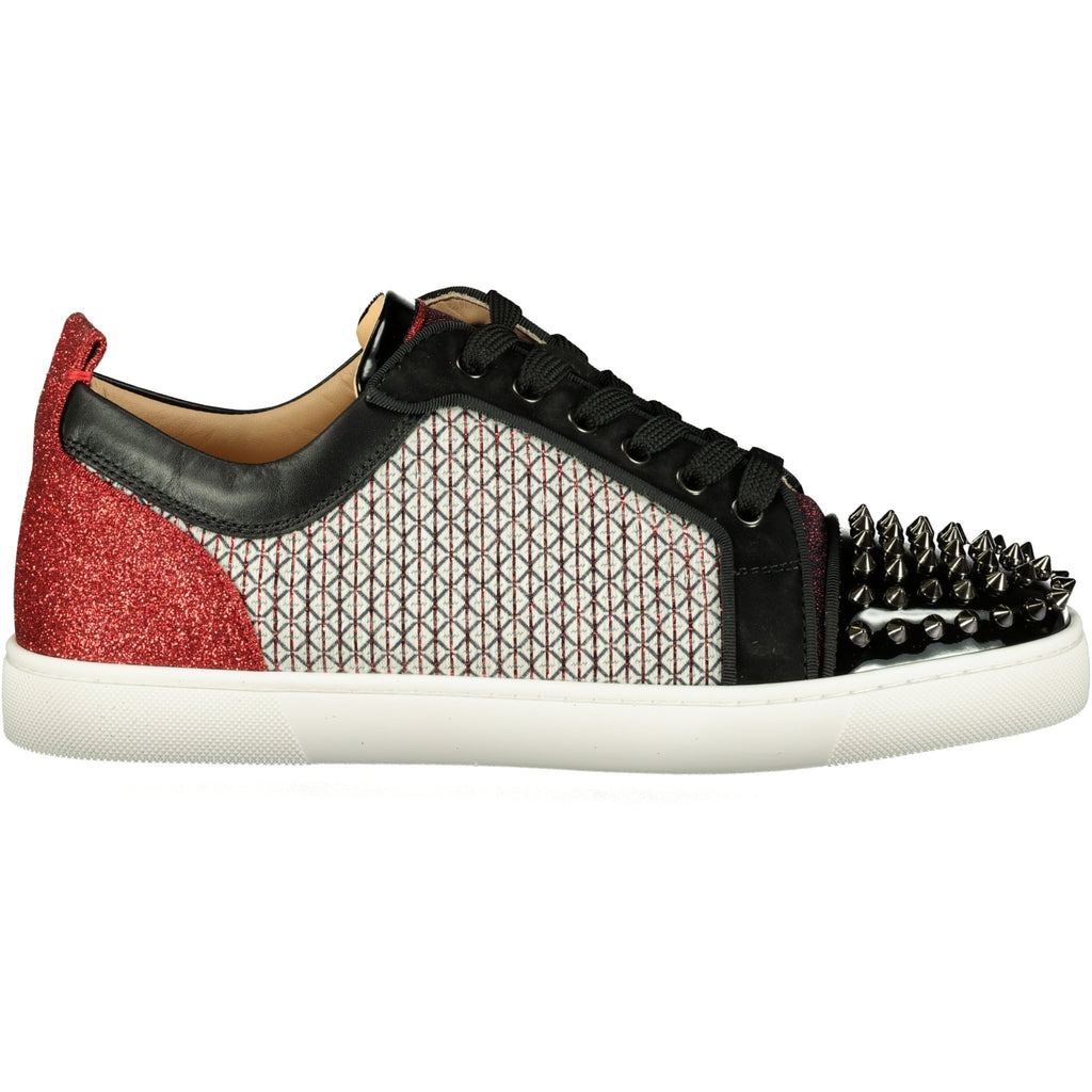 Christian Louboutin Louis Junior Spikes Orlato Flat - chancefashionco