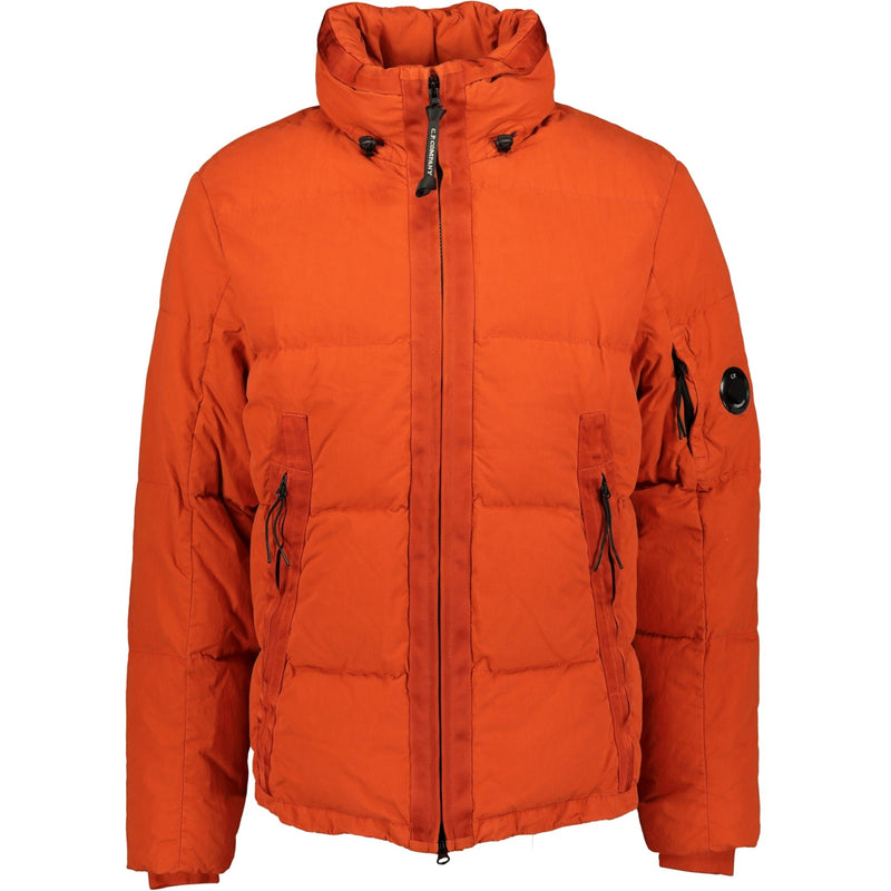 CP Company 50 Fili Down Jacket Orange - chancefashionco