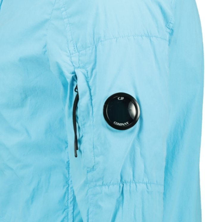 CP Company 50 Fili Lens Overshirt Jacket Blue - chancefashionco