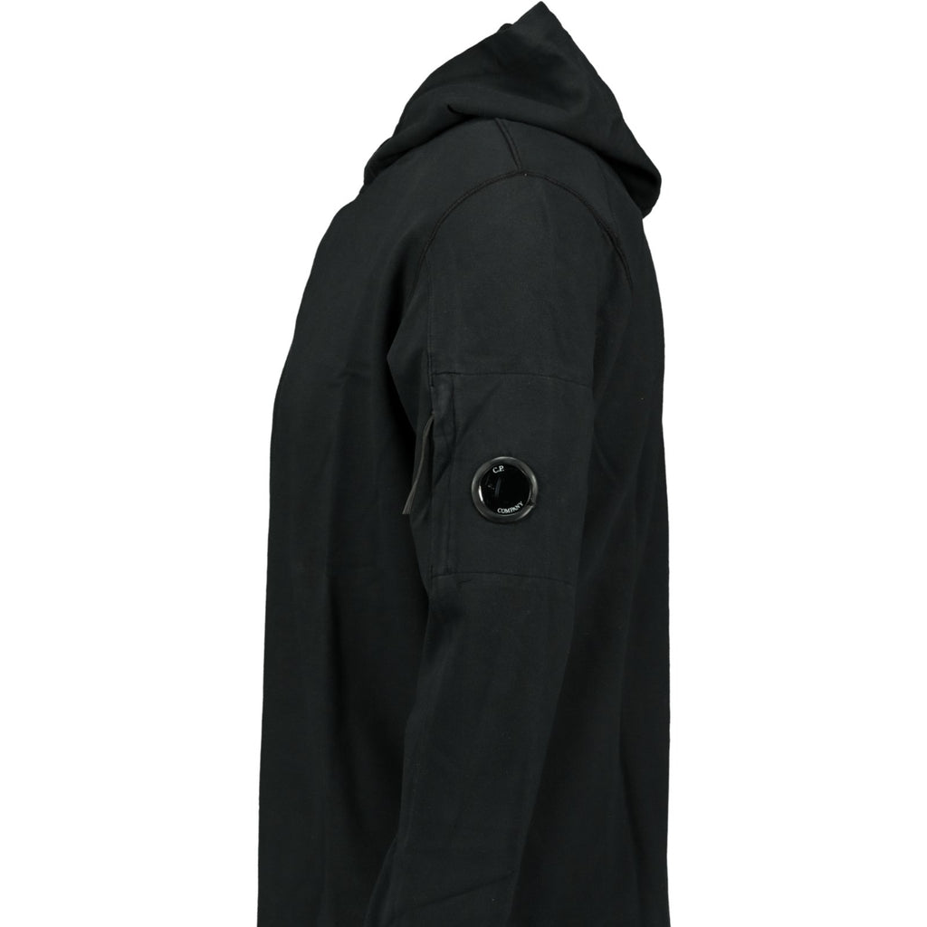 CP Company Arm Lens Hoodie Black - chancefashionco