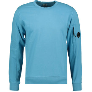 CP Company Arm Lens Sweatshirt Blue - chancefashionco