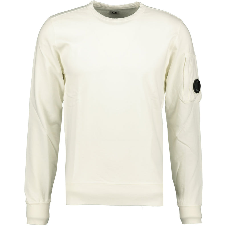 CP Company Arm Lens Sweatshirt Cream - chancefashionco