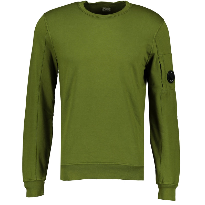 CP Company Arm Lens Sweatshirt Green - chancefashionco